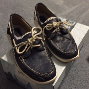 Sperry top-spider loafers